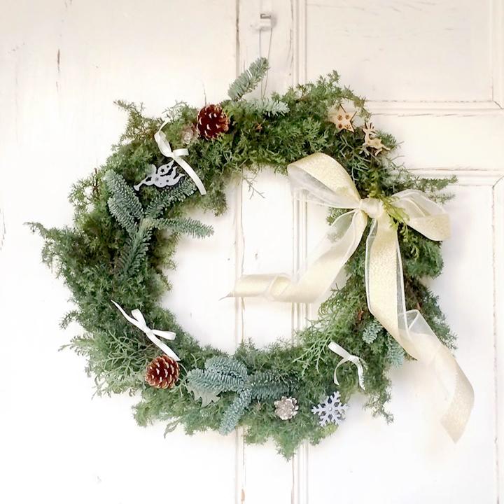 ルカルカのクリスマスリース