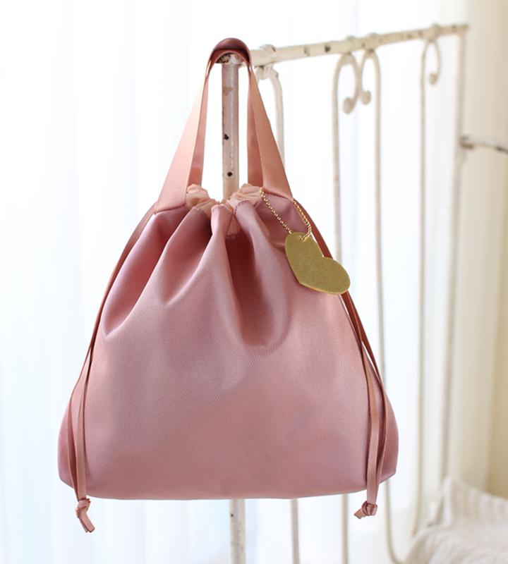 ルカルカ おむつポーチ ピンク
