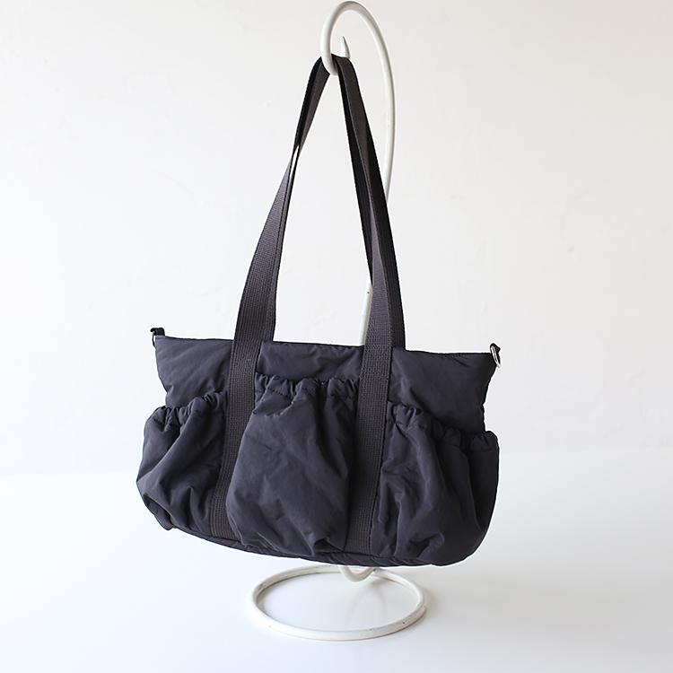 大きいマザーズバッグ、ギャザーポケット Lサイズ