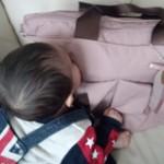 ルカルカ エアリー リュクス 2wayマザーズバッグ ミスティピンク