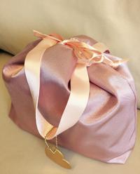 巾着にこの値段て… ルカルカ おむつポーチ