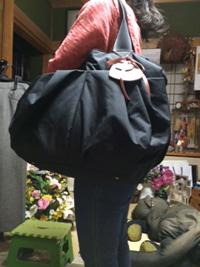 ルカルカ エアリー リュクス 2wayマザーズバッグ ブラック