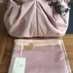 おむつポーチ(バッグインバッグ)ピンク,リュクスLサイズ ミスティピンク