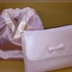 ルカルカ レザー母子手帳ケース リボン ベビーピンク,おむつポーチ ピンク