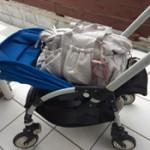自分への出産祝いとして ルカルカ マザーズバッグ ベビーカー