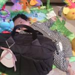 ルカルカ エアリー リュクス 2wayマザーズバッグ Mサイズ ブラック