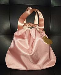 おむつポーチ(バッグインバッグ)ピンク