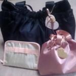 商品届きました! ルカルカ ジェリ-マザーズバッグ オムツポーチ 母子手帳ケース
