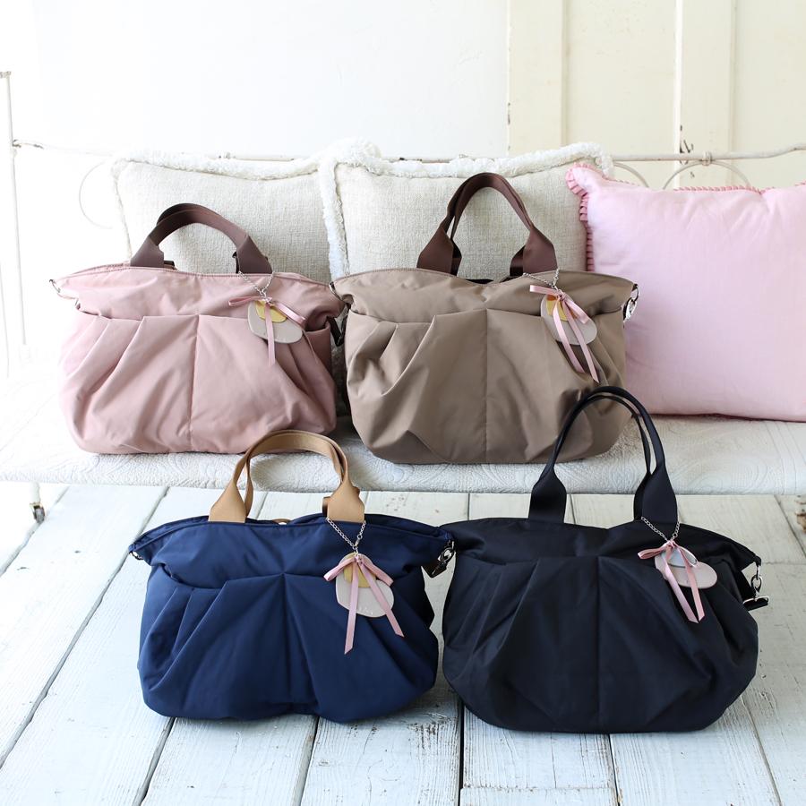 ルカルカ リュクス 2wayマザーズバッグは、4カラー展開です