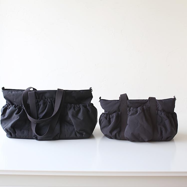 小さめマザーズバッグのギャザーポケット Mサイズ