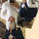 仕事に行く時に持っていても ルカルカマザーズバッグ