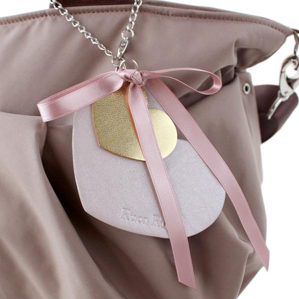 ハートチャームのママバッグ