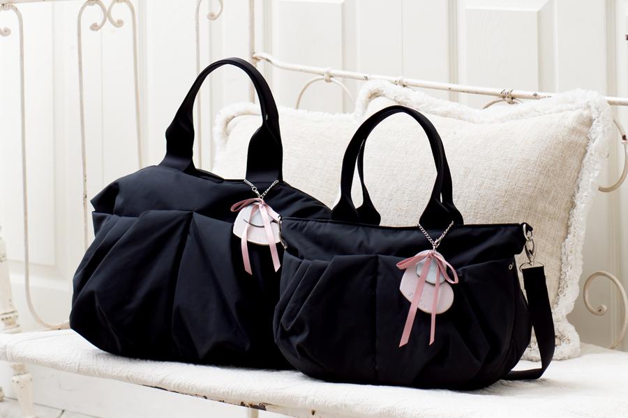 LとM、2つのサイズ、成長や用途に合わせて選べるマザーズバッグ