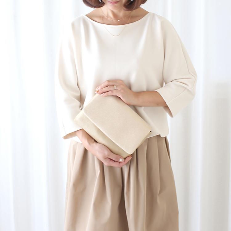 シンプルなレザーの母子手帳ケース