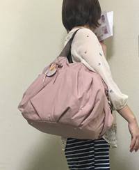 マザーズバッグ ピンク