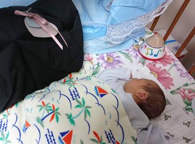 赤ちゃんとママバッグ