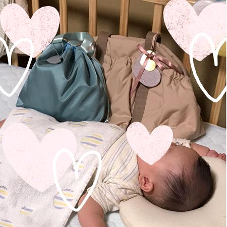 おおきなママバッグ、早めに入院準備ができ、とても助かりました