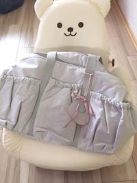 ママバッグ、デザインが可愛くて好きです(^^)