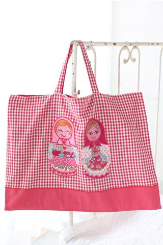 女の子レッスンバッグ おすすめ 刺繍