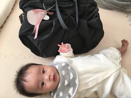 出産後にマザーズバッグ