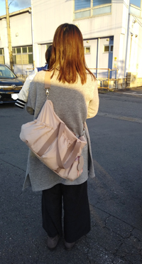 私にとってはパーフェクトなマザーズバッグで一目惚れでした❤️
