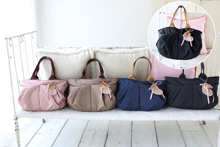 ルカルカ リュクス 2wayマザーズバッグ 小さめMサイズは、4カラー展開です