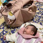 新生児の荷物は多いけどこのママバッグは沢山入っていいし買ってよかったと大満足です!!