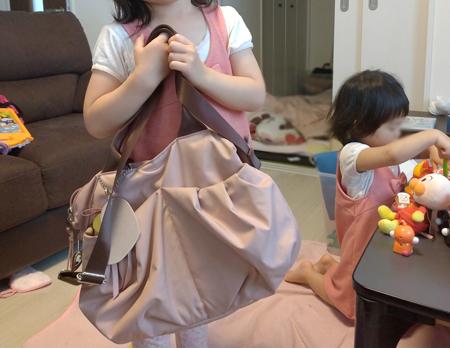 マザーバッグの枠を超えて理想のバッグに出会えました!