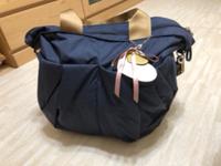荷物が増えても問題ないママバッグ