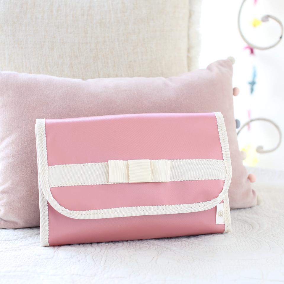 母子手帳ケース、2人用、2人目、2人分、3人用、大きめ、ピンク