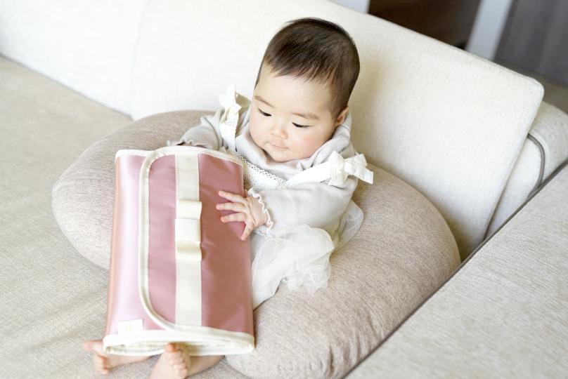 母子手帳ケース ジャバラ 大きめ ベビーにも人気です