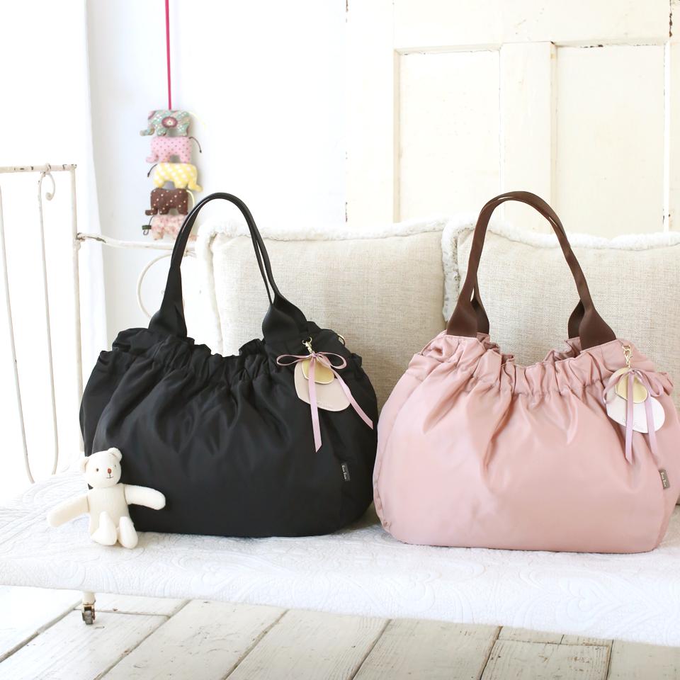 ジェリー 2wayマザーズバッグは服装に合わせやすい2カラー展開